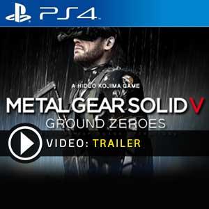 Metal Gear Solid 5 Ground Zeroes PS4 Digital Download und Box Edition