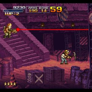 Metal Slug X Gameplay