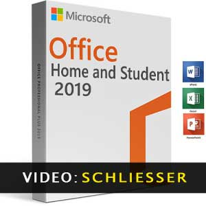 Microsoft Office Home & Student 2019 Trailer-Video