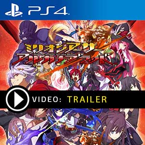 Million Arthur Arcana Blood PS4 Digital Download und Box Edition
