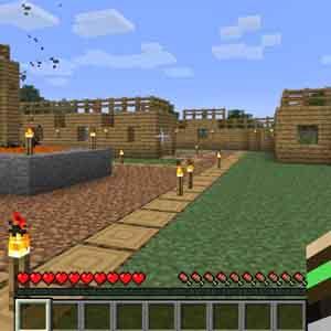 Minecraft PS4 Wir bauen