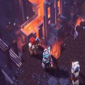 Minecraft Dungeons -Epizität