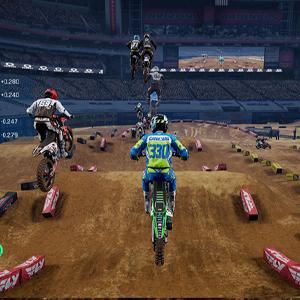 Monster Energy Supercross 4 Springen