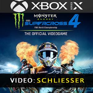 Monster Energy Supercross 4 Trailer Video