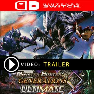 Monster Hunter Generations Ultimate Nintendo Switch Digital Download und Box Edition