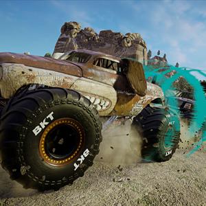 Monster Jam Steel Titans 2 Hund-Monster-Truck