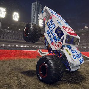 Monster Jam Steel Titans 2 Eiscreme-Mann-Monster-Truck