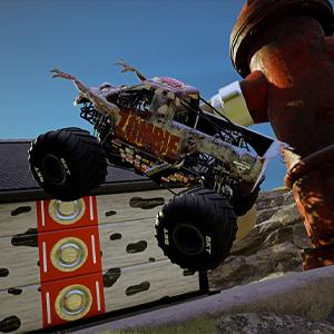 Monster Jam Steel Titans 2 Zombie-Monster-Truck