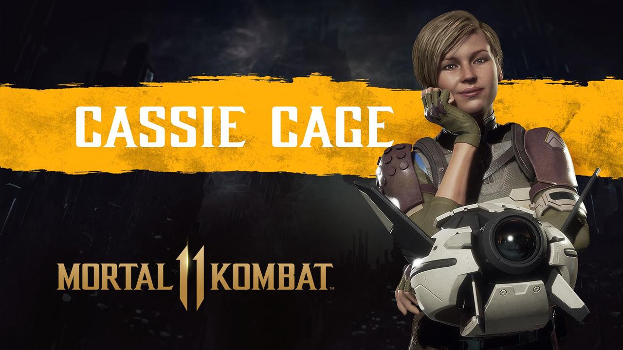 Mortal Kombat 11 Cassie Cage
