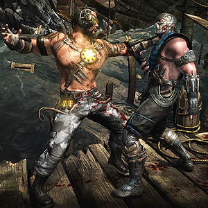 Mortal Kombat X Xbox One Kampf