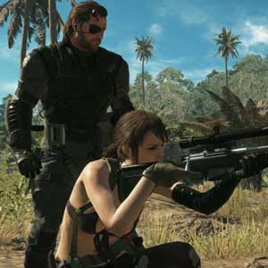 Metal Gear Solid 5 The Phantom Pain Venom Snake and Quiet