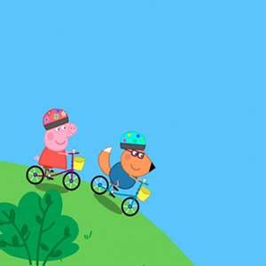 My Friend Peppa Pig Fahrrad Fahren