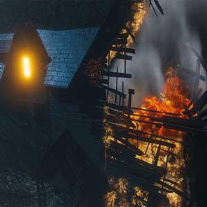 Untersuchung einer Brandstiftung