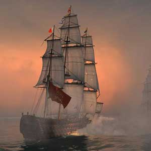 Naval Action Santisima Trinidad in Aktion