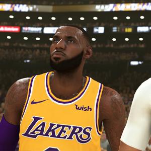 NBA 2K20 - LeBron James und Anthony Davis