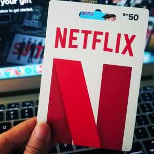 Netflix Gift Card Stückelungen</span>