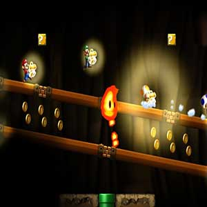 New Super Mario Bros U Wii U Characters