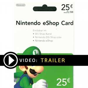 Nintendo eShop 25 Euro Trailer-Video