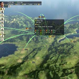 Nobunagas Ambition Sphere of Influence PS4 Karte
