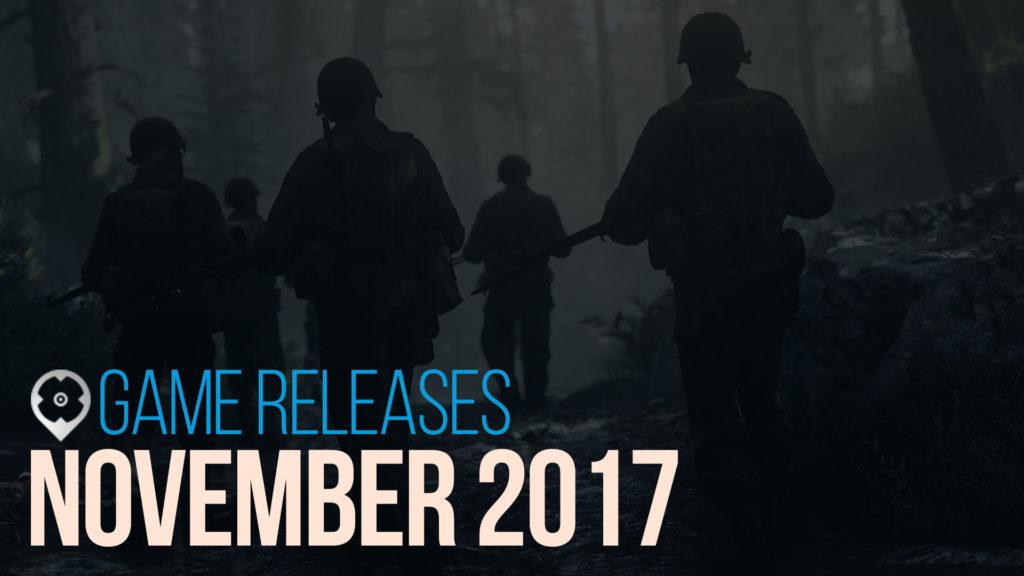 November 2017 Spiele Release
