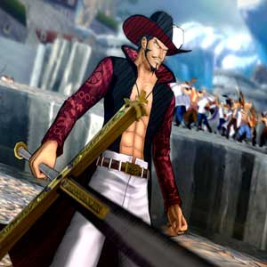 One Piece Burning Blood Mihawk Paramount War