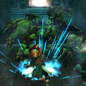 Orcs Must Die - Attacke