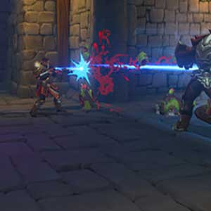 3-spieler Co-op-Verteidigung Gameplay