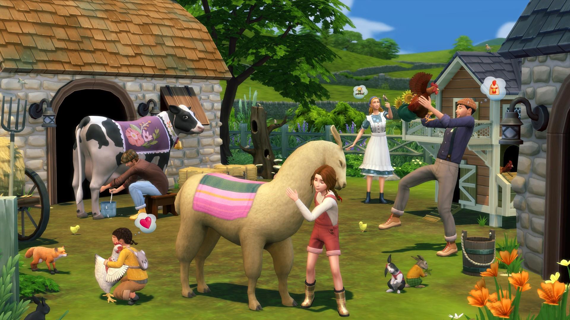 Die Sims 4: Cottage Living Erweiterung Bestpreis