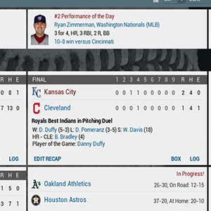 Out of the Park MLB Noten