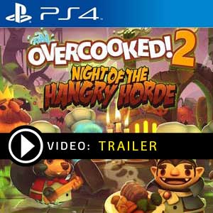 Overcooked 2 Night of the Hangry Horde PS4 Digital Download und Box Edition
