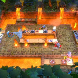 Overcooked All You Can Eat Lava Küche