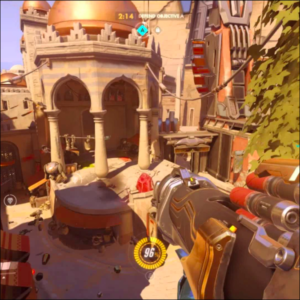 Overwatch map: Temple of Anubis