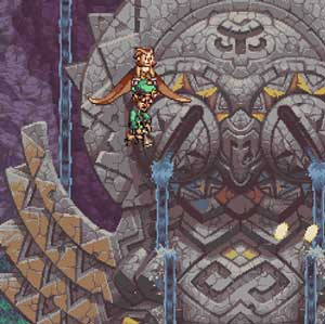 Kampf gegen riesige Dungeons
