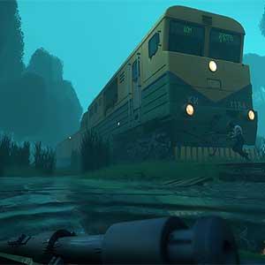 escape on a train