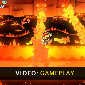 Paper Mario The Origami King Gameplay Video