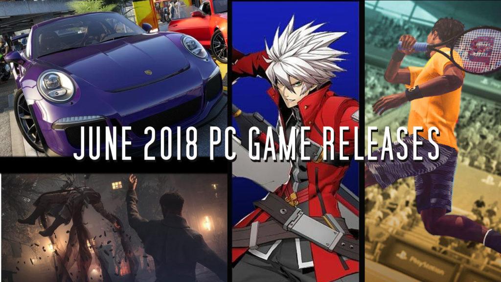 PC-Spiele Release für Juni 2018
