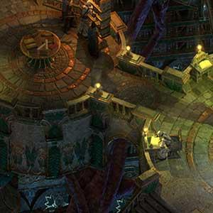Traverse an expansive dungeon