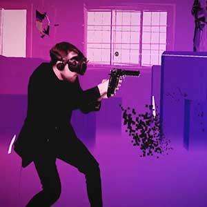 Pistol Whip Schießen