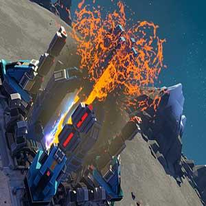 Blitzschlag-schwingendes Zeus-Luftschiff