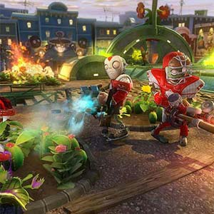 Plants vs Zombies Garden Warfare PS4 Kampf