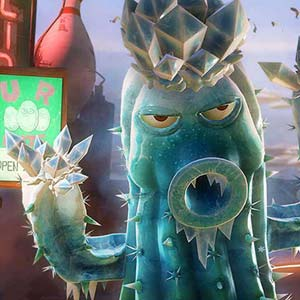 Plants vs Zombies Garden Warfare PS4 Cactus