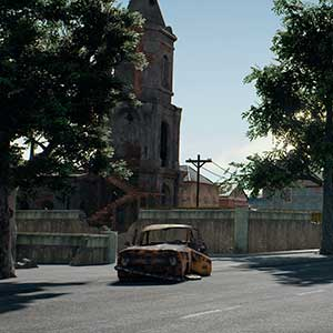 PlayerUnknowns Battlegrounds Miramar-Karte
