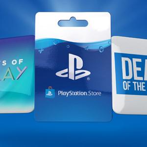Playstation Gift Card Deal der Woche
