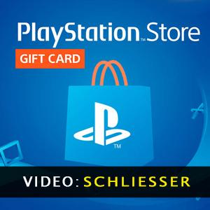 Playstation Gift Card Anhänger