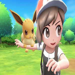 wilde Pokémon durchstreifen