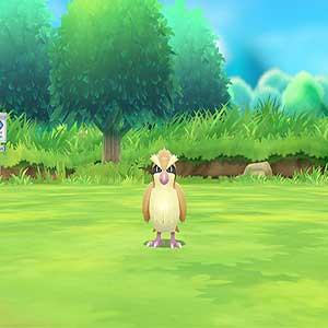Wurfbewegung, um Pokémon zu fangen