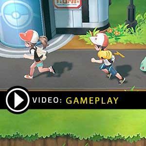 Pokemon Lets Go, Eevee Nintendo Switch Gameplay Video