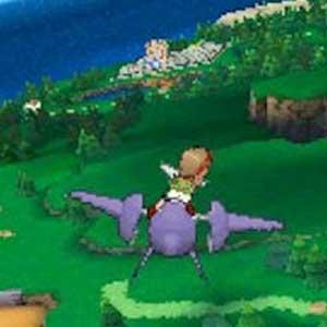Pokemon Omega Ruby Nintendo 3DS Luftaufnahme