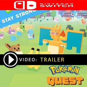 Pokemon Quest Stay Strong Stone Nintendo Switch Prices Digital or Box Edition