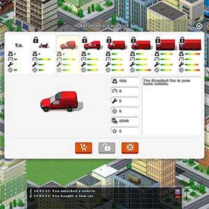 Fahrzeuge zur Auslieferung